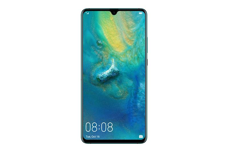 The Huawei Mate 20 X 5G has a 7.2-inch screen and four camera lenses across the device (Huawei)