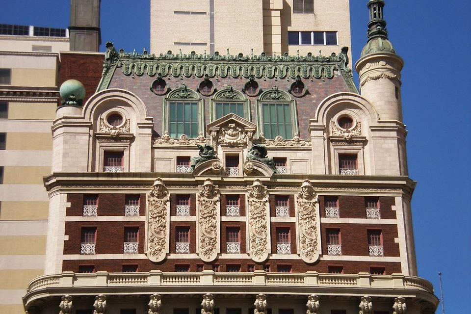 "<p>The founder of the Anheuser-Busch company, Adolphus Busch, is responsible for this Dallas landmark, which opened in 1912. The Beaux Arts–style building, though rumored to have a haunted 19th floor, welcomed big band entertainers, presidents including Jimmy Carter and Ronald Reagan, and even <a href=""https://www.elledecor.com/celebrity-style/celebrity-homes/g14463344/queen-elizabeth-homes/"" rel=""nofollow noopener"" target=""_blank"" data-ylk=""slk:Queen Elizabeth II and Prince Philip"" class=""link rapid-noclick-resp"">Queen Elizabeth II and Prince Philip</a>.<br></p><p><strong>EXPLORE NOW:</strong> <a href=""https://www.tripadvisor.com/Hotel_Review-g55711-d114942-Reviews-The_Adolphus_Autograph_Collection-Dallas_Texas.html"" rel=""nofollow noopener"" target=""_blank"" data-ylk=""slk:The Adolphus"" class=""link rapid-noclick-resp"">The Adolphus</a></p><p><em>Image via <a href=""https://www.flickr.com/photos/williamaddington/430075783/in/photolist-E1fxH-bPc6px"" rel=""nofollow noopener"" target=""_blank"" data-ylk=""slk:WILLIAMEDIA"" class=""link rapid-noclick-resp"">WILLIAMEDIA</a>/Flickr</em></p>"