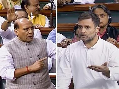 Rahul Gandhi, Rajnath Singh lock horns over farmers' woes in Lok Sabha; Congress downplays $5 trillion economy target in RS