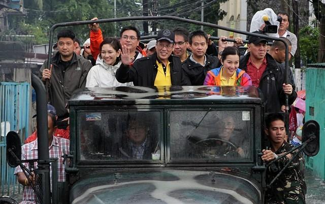Aquino relief operations