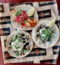 """<p><a href=""""https://www.el-taco-luchador.com/"""" rel=""""nofollow noopener"""" target=""""_blank"""" data-ylk=""""slk:Taco Luchador"""" class=""""link rapid-noclick-resp"""">Taco Luchador</a> is not only the best place to get tacos in Kentucky, but it's also a great place to get tortas, salads, and the fan-favorite guac. </p><p><em>Check out <a href=""""https://www.facebook.com/TacoluchadorStMatthews/"""" rel=""""nofollow noopener"""" target=""""_blank"""" data-ylk=""""slk:Taco Luchador on Facebook"""" class=""""link rapid-noclick-resp"""">Taco Luchador on Facebook</a>.</em></p>"""