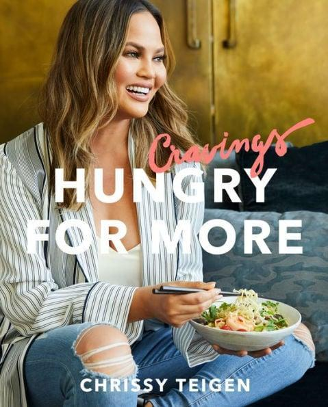 <p>If there's one thing foodies love more than food, it's other foodies! Chrissy Teigen is back with more recipes like Pad Thai carbonara, pancakes, and onion dip in <span>Cravings: Hungry For More</span> ($16).</p>