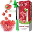 """<p><strong>watermelon slicer pro</strong></p><p>amazon.com</p><p><strong>$13.99</strong></p><p><a href=""""https://www.amazon.com/dp/B07S7CDFCF?tag=syn-yahoo-20&ascsubtag=%5Bartid%7C10057.g.36741161%5Bsrc%7Cyahoo-us"""" rel=""""nofollow noopener"""" target=""""_blank"""" data-ylk=""""slk:BUY NOW"""" class=""""link rapid-noclick-resp"""">BUY NOW</a></p><p>TikTok fell in love with this watermelon cutter. Enjoy perfectly cubed watermelon without worrying about making a mess.</p>"""