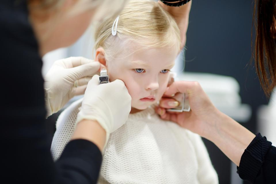The subject of piercing your child's ears has caused controversy in the past [Photo: Getty]