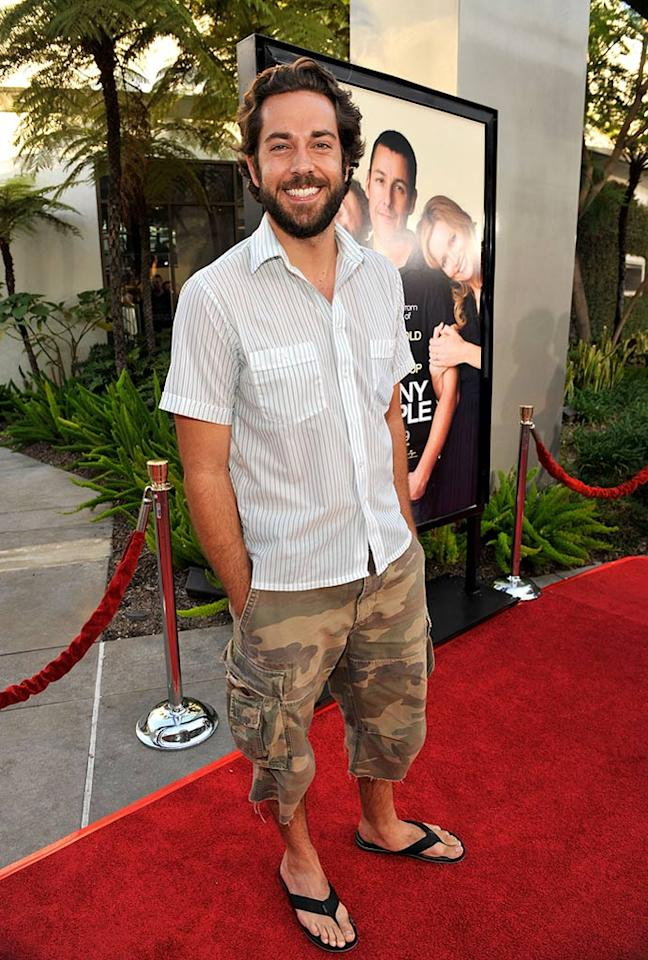 """<a href=""""http://movies.yahoo.com/movie/contributor/1808421073"""">Zachary Levi</a> at the Los Angeles premiere of <a href=""""http://movies.yahoo.com/movie/1810041785/info"""">Funny People</a> - 07/20/2009"""