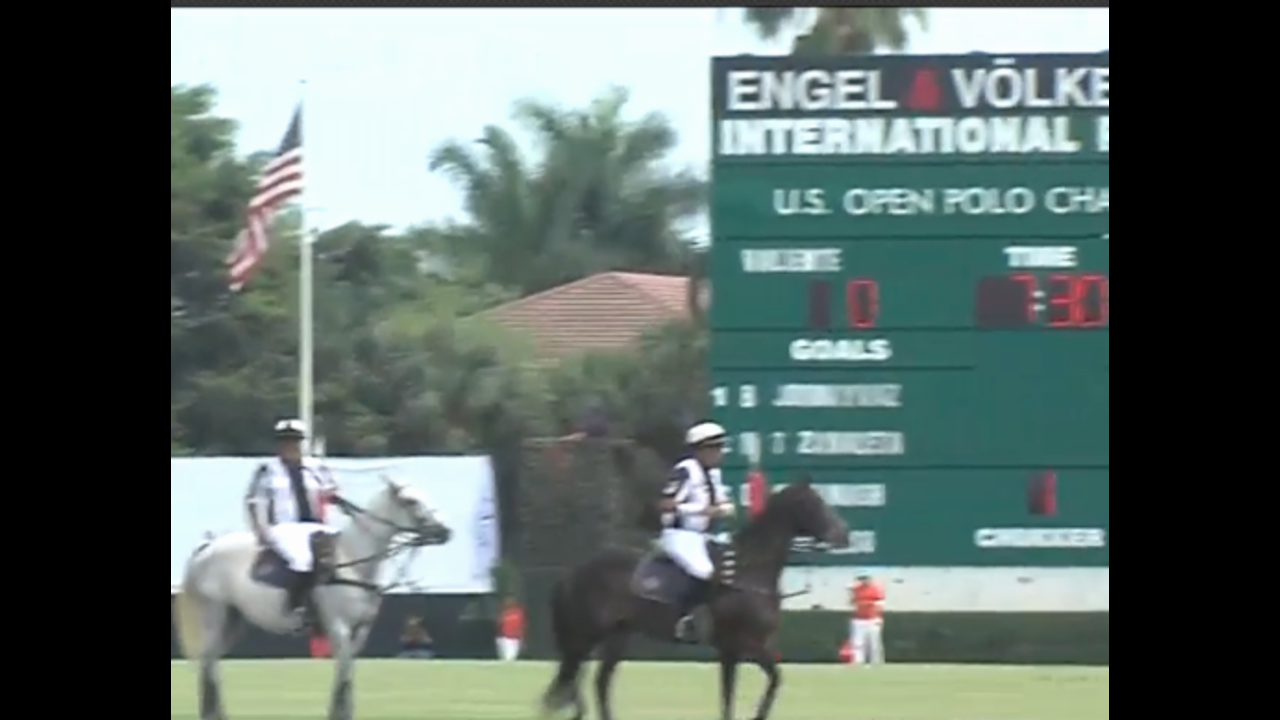 Wellington is in the spotlight - The U.S. Open Polo Championship, one of the biggest and most popular matches in the world of Polo is underway in the village.
