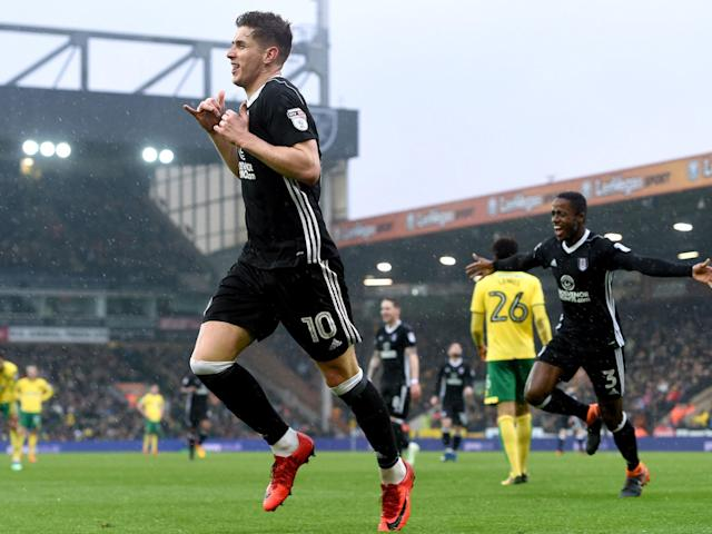 Stefan Johansen and Tom Cairney goals sink Norwich to extend Fulham's unbeaten run