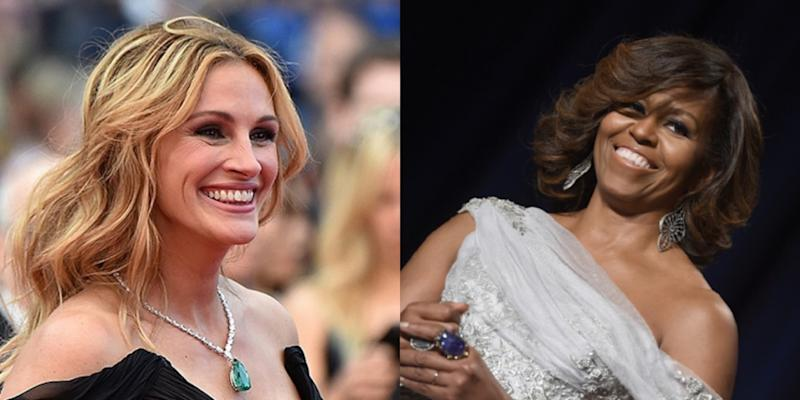 Julia Roberts and Michelle Obama will be sharing the lessons they learned throughout their leadership journeys. — AFP pic
