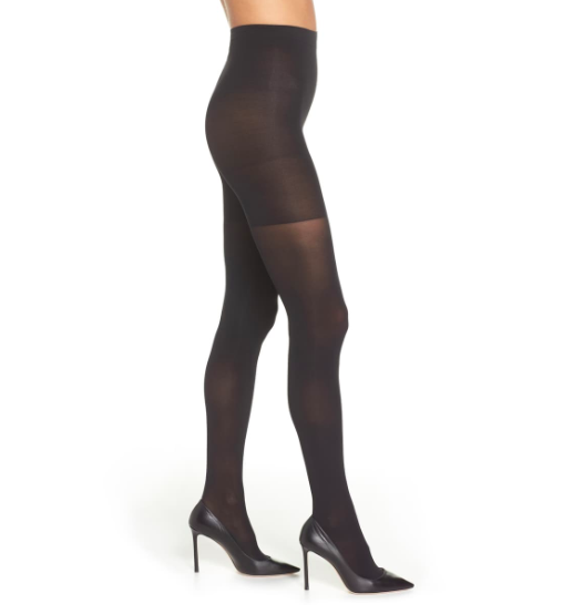 """<h3><a href=""""https://shop.nordstrom.com/s/spanx-luxe-leg-shaping-tights/4018415/full"""" rel=""""nofollow noopener"""" target=""""_blank"""" data-ylk=""""slk:SPANX 'Luxe' Leg Shaping Tights"""" class=""""link rapid-noclick-resp"""">SPANX 'Luxe' Leg Shaping Tights</a></h3><br>It's officially tights' weather and this opaque, high-waisted, and control-shape pair that ranks among <a href=""""https://refinery29.com/en-us/best-black-tights-review"""" rel=""""nofollow noopener"""" target=""""_blank"""" data-ylk=""""slk:the top-reviewed tights on the market"""" class=""""link rapid-noclick-resp"""">the top-reviewed tights on the market</a> is coming in hot as an R29-reader's choice too.<br><br><strong>SPANX</strong> Shaping Tights, $, available at <a href=""""https://shop.nordstrom.com/s/spanx-luxe-leg-shaping-tights/4018415"""" rel=""""nofollow noopener"""" target=""""_blank"""" data-ylk=""""slk:Nordstrom"""" class=""""link rapid-noclick-resp"""">Nordstrom</a>"""