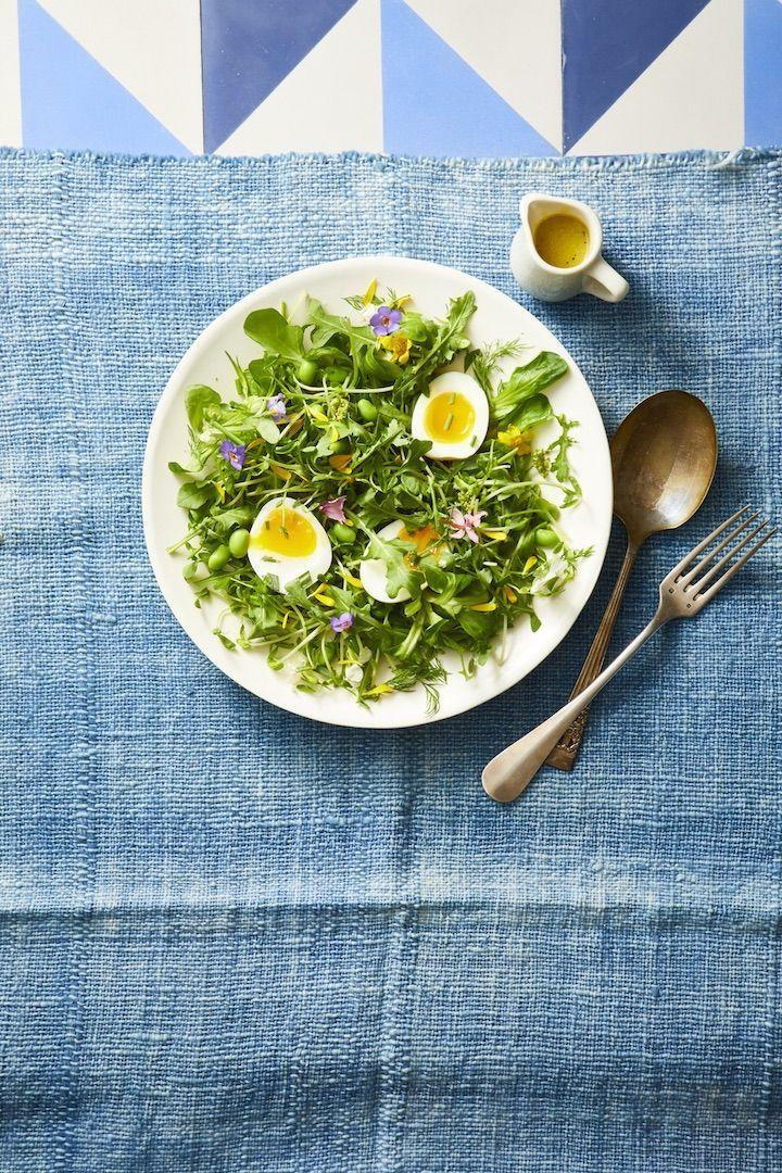 """<p>Turn a simple salad into a holiday-worthy side with pretty edible flowers.</p><p><em><a href=""""https://www.goodhousekeeping.com/food-recipes/easy/a19865491/mixed-green-and-herb-toss-salad-recipe/"""" rel=""""nofollow noopener"""" target=""""_blank"""" data-ylk=""""slk:Get the recipe for Mixed Green and Herb Toss Salad »"""" class=""""link rapid-noclick-resp"""">Get the recipe for Mixed Green and Herb Toss Salad »</a></em></p>"""