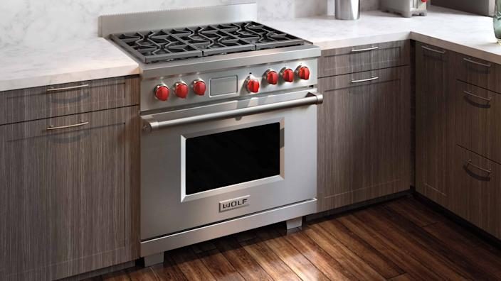 Upgrade to your dream kitchen with a Wolf appliance.