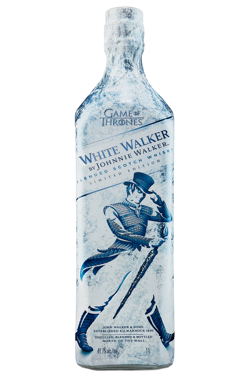 "<p><strong>Johnnie Walker</strong></p><p>drizly.com</p><p><strong>$31.99</strong></p><p><a rel=""nofollow"" href=""https://drizly.com/johnnie-walker-white-walker-blended-scotch-whisky/p87653"">Buy</a></p><p>It's about time Johnnie Walker took advantage of <em>GOT </em>fandom and made a White Walker scotch.<em></em></p>"