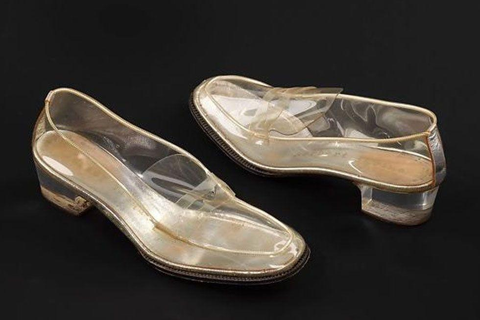 "<p>A pre-cursor to the PVC trend, these translucent loafers were designed in 1965 by Beth Levine, also known as ""America's First Lady of Shoe Design.""  </p>"