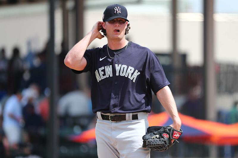 New York Yankees starting pitcher Gerrit Cole