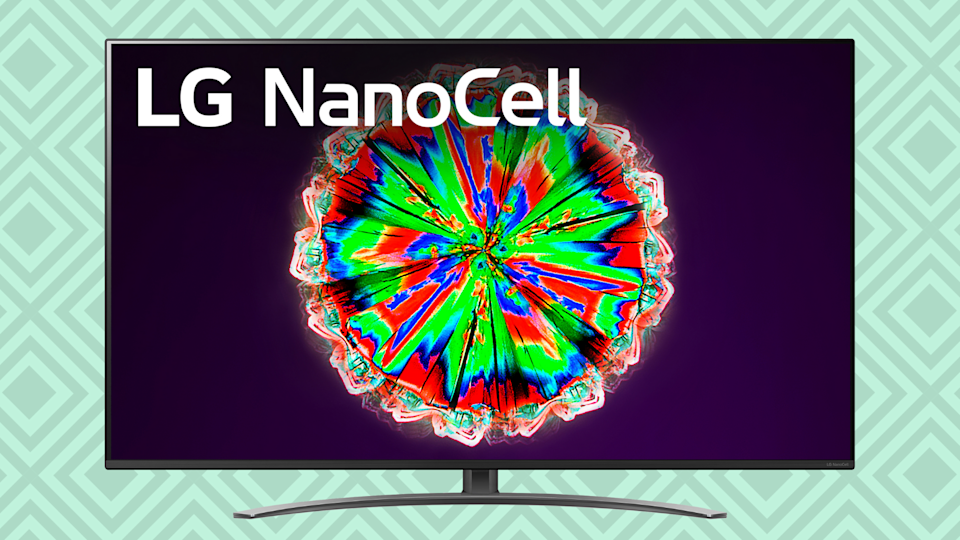Your favorite movies and TV shows are just going to pop on this LG 4K NanoCell TV. (Photo: Walmart)