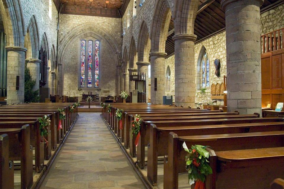 "<p>If church seems a little sparse on Christmas Eve, there may be a reason for that. The <a href=""http://www.pewforum.org/2017/12/12/americans-say-religious-aspects-of-christmas-are-declining-in-public-life/"" rel=""nofollow noopener"" target=""_blank"" data-ylk=""slk:Pew Research Center"" class=""link rapid-noclick-resp"">Pew Research Center</a> found that fewer people think of Christmas as a <a href=""https://www.goodhousekeeping.com/holidays/gift-ideas/g24438838/christian-gifts/"" rel=""nofollow noopener"" target=""_blank"" data-ylk=""slk:religious holiday"" class=""link rapid-noclick-resp"">religious holiday</a> these days. Only 51% of people who celebrate attend church on Christmas. It didn't say what percentage of those only go on Christmas and Easter.</p>"