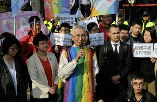 Labour of love: One man's fight for gay marriage in Taiwan