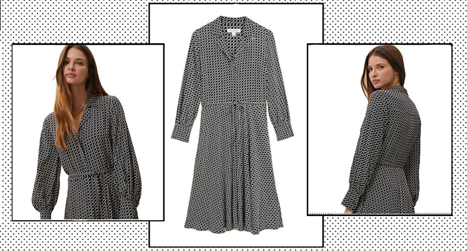 Marks and Spencer launch new style of Holly Willoughby's sell-out shirt dress. (Marks and Spencer)
