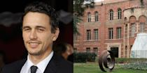 <p><strong>University of California, Los Angeles</strong></p><p>Franco is arguably the most educated actor. He enrolled at UCLA as an English major, but dropped out after his first year to pursue a career in acting. He later reenrolled with a creative writing concentration. He even received permission to take as many as 62 course credits per quarter compared to the normal limit of 19, while still continuing to act.</p><p>He then moved to New York to simultaneously attend graduate school at Columbia University's MFA writing program, New York University's Tisch School of the Arts for filmmaking, and Brooklyn College for fiction writing. </p><p>He did this all while also attending the low-residency MFA Program for Writers at North Carolina's Warren Wilson College for poetry. He received his MFA from Columbia in 2010. Franco is a Ph.D. student in English at Yale University and has attended the Rhode Island School of Design. He has also taught classes at NYU and USC.<br></p>