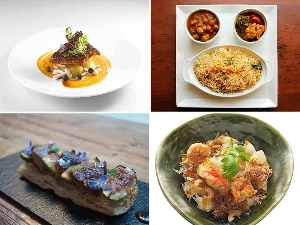 <p>These restaurants are serving up a number of dishes that have less than 500 calories or contain at least eight per cent of wholegrains per serving.</p><p>The annual Singapore Restaurant Month aims to promote healthier dining in the country by encouraging F&B industry players and the public to opt for healthier food options when eating out.</p><p>This year, the event returns with 20 new participating restaurants.</p><p>Launched by the Restaurant Association of Singapore last year as part of the SG50 celebrations, a total of 50 restaurants participated in 2015.</p><p>SRM takes place from 1 to 31 July and is held in conjunction with the Singapore Food Festival (15 to 31 July) and the coming Food and Drink Campaign (28 July to 28 October) by the Health Promotion Board.</p><p>This year, some of the participating restaurants include Zaffron Kitchen, Earle Swensen's and Nara Thai Cuisine. Here are 16 of the participating dishes.</p>