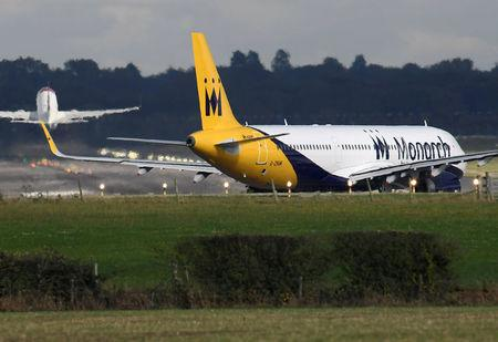 Monarch Airlines flights cancelled as airline goes into administration