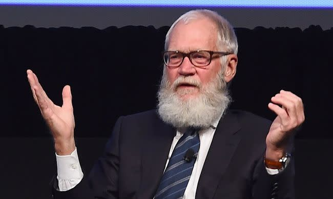 David Letterman Has No Plans To Shave His Beard, Despite His Family's Protests