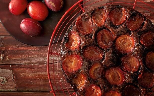Chocolate and plum cake  - Andrew Twort
