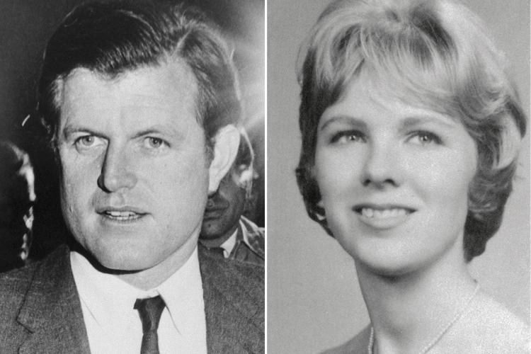 From left: Sen. Ted Kennedy and Mary Jo Kopechne | Getty (2)