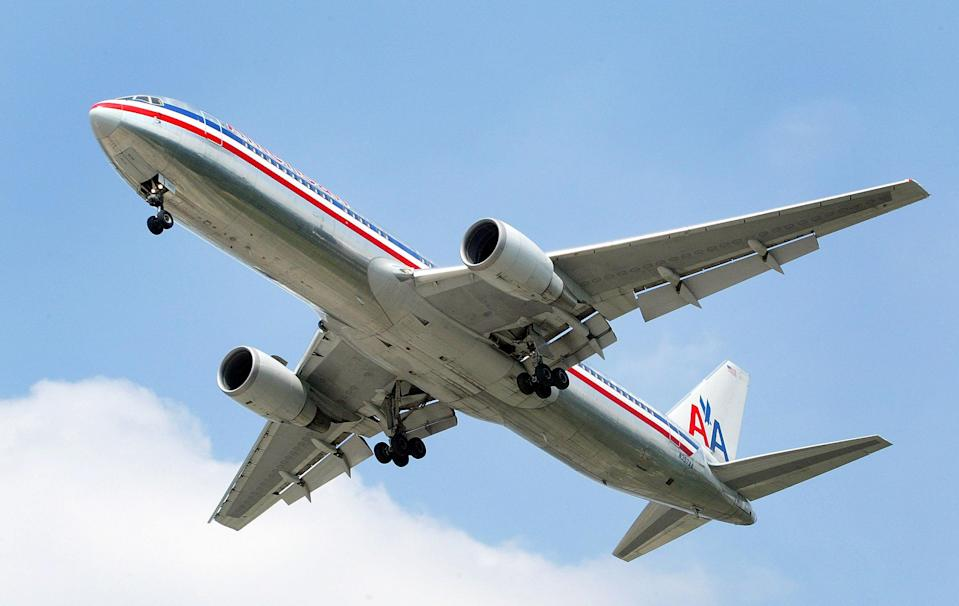 An American Airlines flight was diverted to Kansas City, Mo., due to an allegedly intoxicated passenger refusing to stop doing pull-ups. (Photo: Tim Boyle/Getty Images)