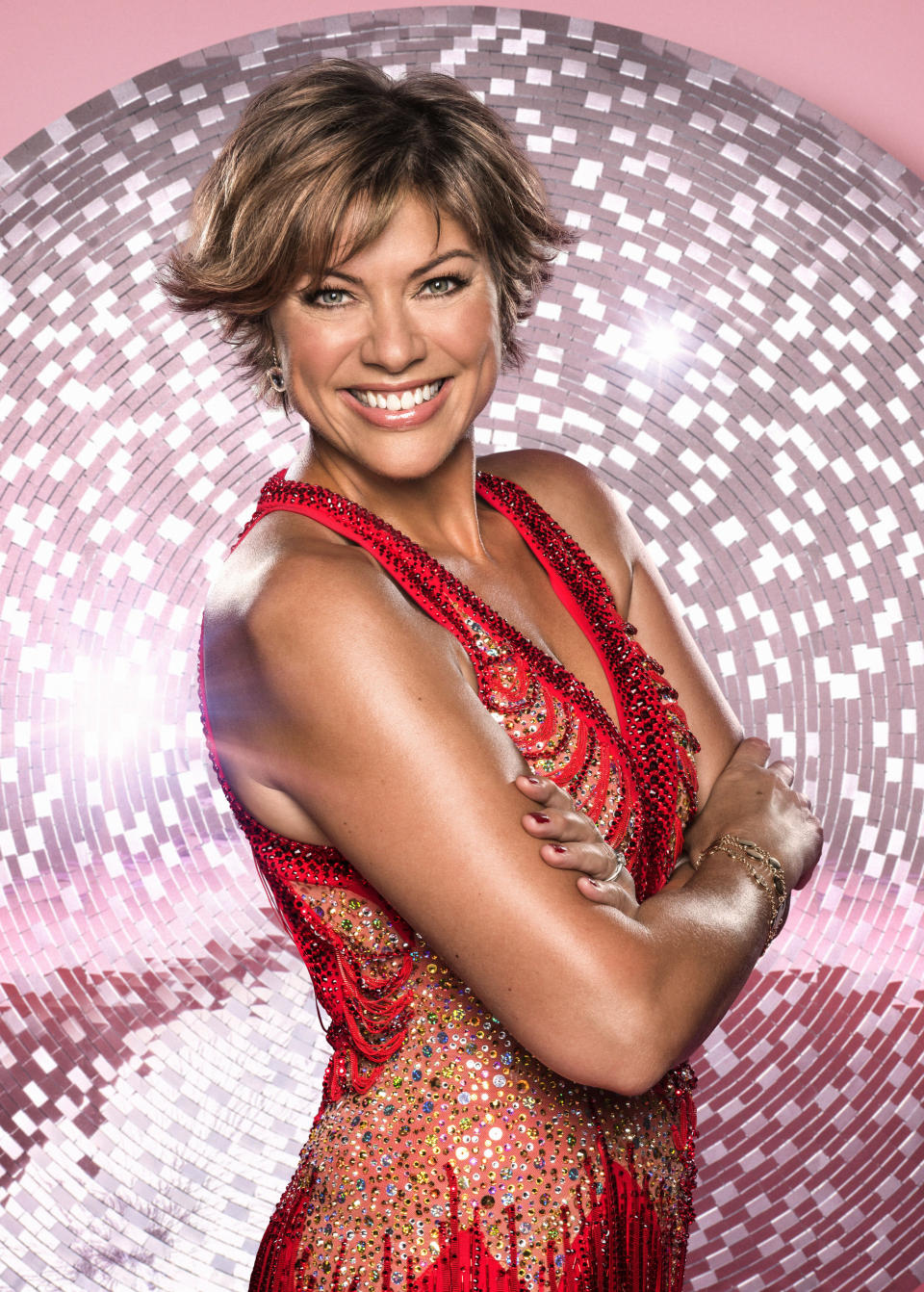"""<p>She said the whole rota of contestants are getting along right now, and no rivalries have emerged yet. """"We don't have rivals yet, I don't think we're into that, like further down the line!"""" she joked. (BBC Pictures) </p>"""