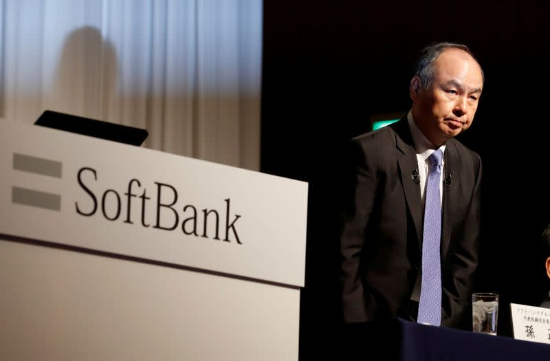 SoftBank seen returning to profitability as listed holdings rise