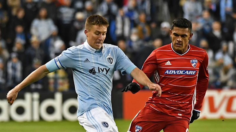 FC Dallas Sporting KC Matt Besler Cristian Colman Peter G