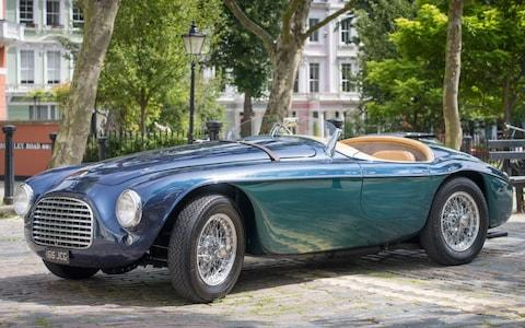 Ferrari 166 MM (1950) - bought new by Gianni Agnelli - Credit: Andrew Crowley