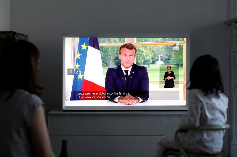 France's Macron says Europe needs to be less dependent on China, U.S.