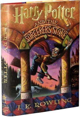 """<p>If you own an original <em>Harry Potter</em> book, you could be looking at major $. Hardcover first editions of <em>Harry Potter and the Philosopher's Stone </em>(aka the English Version) with the print line """"10 9 8 7 6 5 4 3 2 1"""" are <a href=""""https://www.yahoo.com/entertainment/copies-harry-potter-books-may-140039315.html"""" data-ylk=""""slk:worth;outcm:mb_qualified_link;_E:mb_qualified_link;ct:story;"""" class=""""link rapid-noclick-resp yahoo-link"""">worth</a> up to $55,000, while <em>Harry Potter and the Sorcerer's Stone </em>(aka the American version) is <a href=""""https://www.yahoo.com/entertainment/copies-harry-potter-books-may-140039315.html"""" data-ylk=""""slk:worth;outcm:mb_qualified_link;_E:mb_qualified_link;ct:story;"""" class=""""link rapid-noclick-resp yahoo-link"""">worth</a> up to $6,500 if it has the print line """"1 3 5 7 9 10 8 6 4 2 8 9/9 0/0 01 02"""" on the copyright page. I'll give you a moment to look at your copy.</p>"""