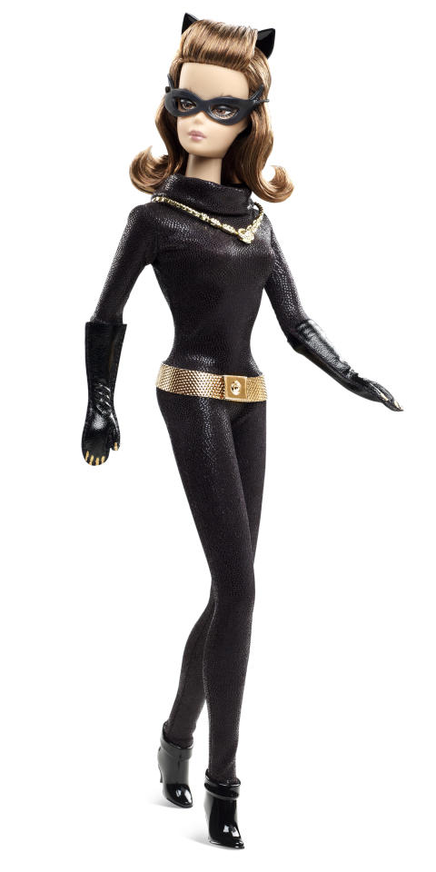 <b>Catwoman Barbie Doll</b><br />Mattel