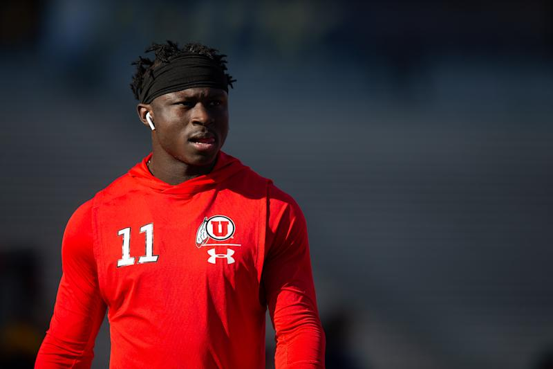 Utah wide receiver Terrell Perriman is facing eight felony charges after he allegedly raped three women, including one 17-year-old girl.