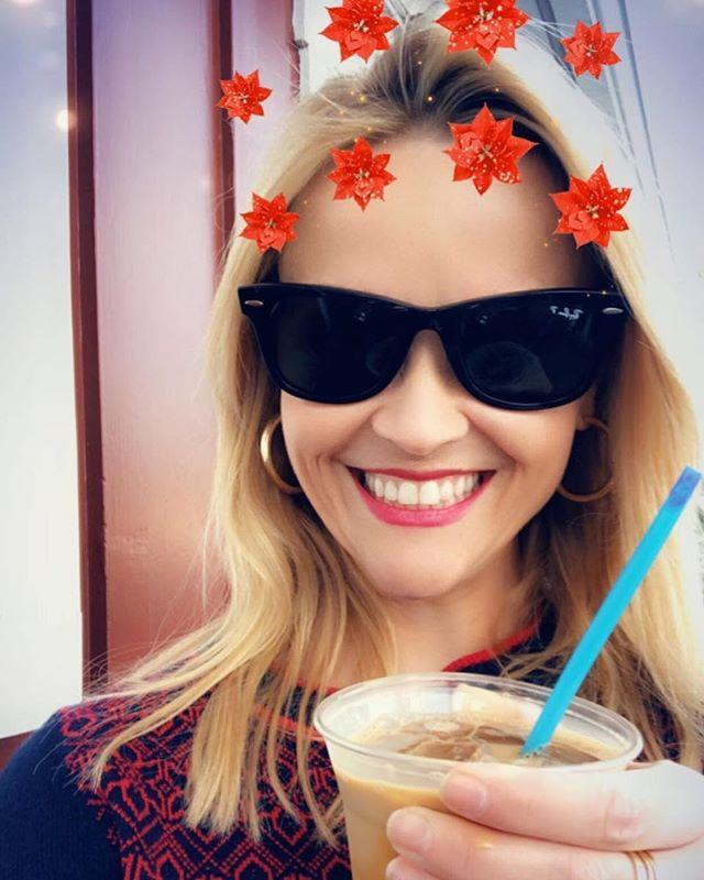 """<p>Reese was all kinds of excited when she tried oat milk in her coffee. """"Now I'm ready to do ALL the things. GAME CHANGER!!"""" she wrote on Instagram. </p><p><a href=""""https://www.instagram.com/p/BsbE6Z1jIyh/"""" rel=""""nofollow noopener"""" target=""""_blank"""" data-ylk=""""slk:See the original post on Instagram"""" class=""""link rapid-noclick-resp"""">See the original post on Instagram</a></p>"""