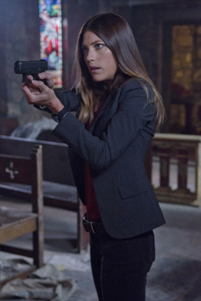 "Jennifer Carpenter as Debra Morgan in the ""Dexter"" Season 7 premiere, ""Are You…?"""
