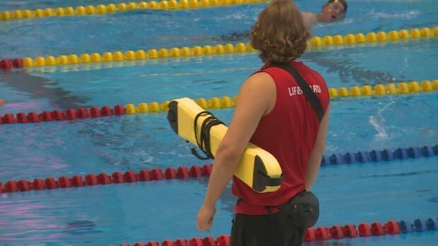 YMCA locations across Calgary are on a lifeguard hiring spree.  (Helen Pike/CBC - image credit)