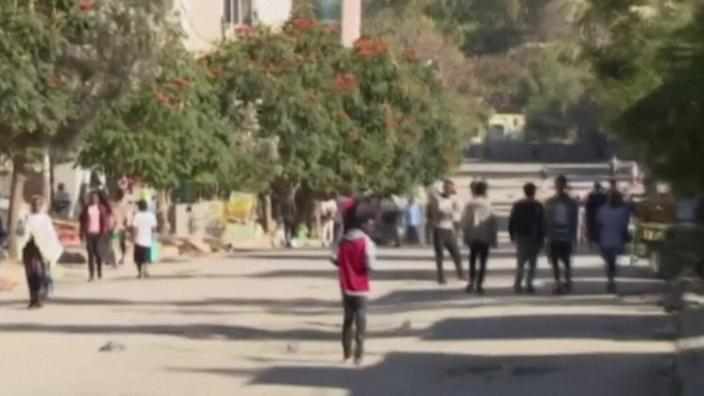Pictures of the streets of Mekelle
