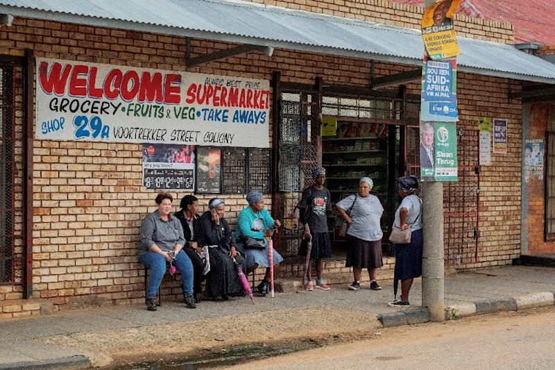 The atmosphere in Coligny remains fragile after the 2017 killing of a black teen by two Afrikaner farmers (AFP Photo/LUCA SOLA)