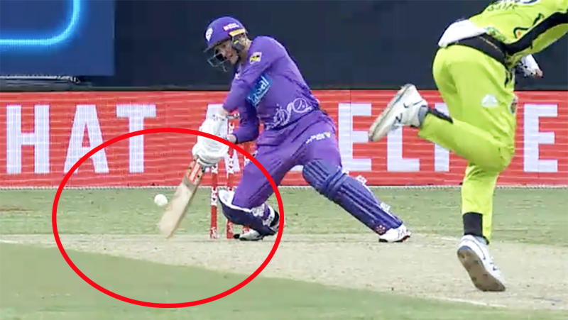 George Bailey, pictured here in action for the Hobart Hurricanes in the Big Bash.