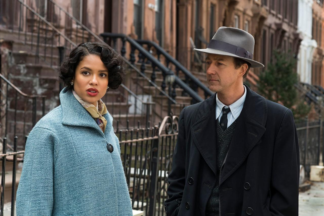 <p><strong>November 1</strong></p> <p>After what felt like forever, this film adaptation of Jonathan Lethem's 1999 novel of the same name is finally here. Directed by Edward Norton, the movie is set in 1950s New York and follows Lionel Essrog (Norton), a private detective dealing with Tourette's syndrome who's on a mission to figure out who killed his only friend and mentor (Bruce Willis). Gugu Mbatha-Raw, Leslie Mann, and Alex Baldwin also star.</p>