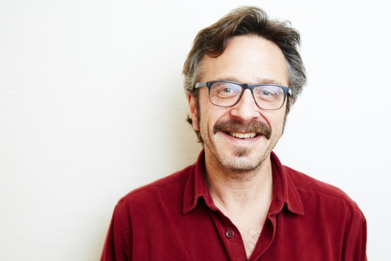 Comedian Marc Maron finally having his moment