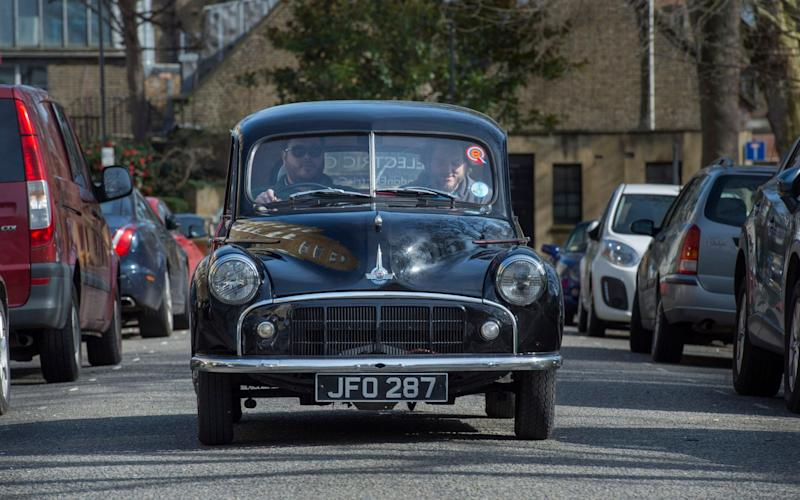 The electric Morris Minor is one of the best cars we've driven all year, but could retro-fitting older cars with electric conversion kits become a bigger part of a sustainable future? - JULIAN SIMMONDS