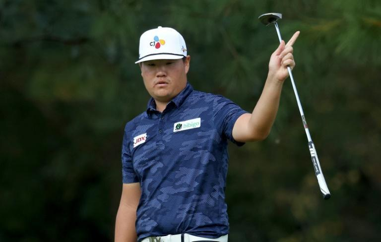 Masters best: South Korea's Im Sung-jae recorded the highest finish by an Asian golfer in Masters history with his tied second behind Dustin Johnson
