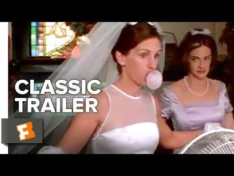 """<p><strong>IMDb says:</strong> A reporter is assigned to write a story about a woman who has left a string of fiancés at the altar.</p><p><strong>We say:</strong> Nine years after they appeared together in Pretty Woman Julia Roberts and Richard Gere reunite for another iconic 90s rom-com, and we're so very glad they did.</p><p><a href=""""https://www.youtube.com/watch?v=pOmwh43Kr34"""" rel=""""nofollow noopener"""" target=""""_blank"""" data-ylk=""""slk:See the original post on Youtube"""" class=""""link rapid-noclick-resp"""">See the original post on Youtube</a></p>"""