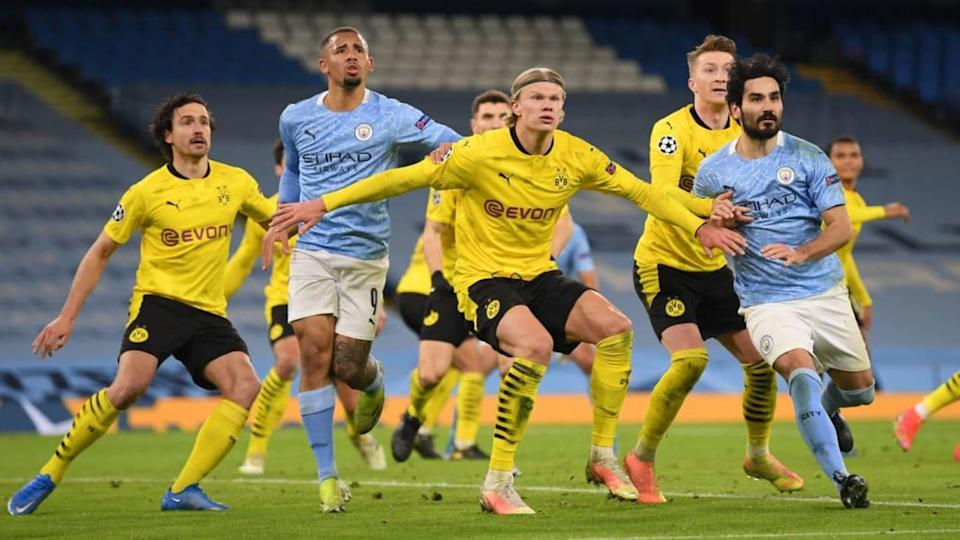 Manchester City v Borussia Dortmund - UEFA Champions League Quarter Final: Leg One | Michael Regan/Getty Images