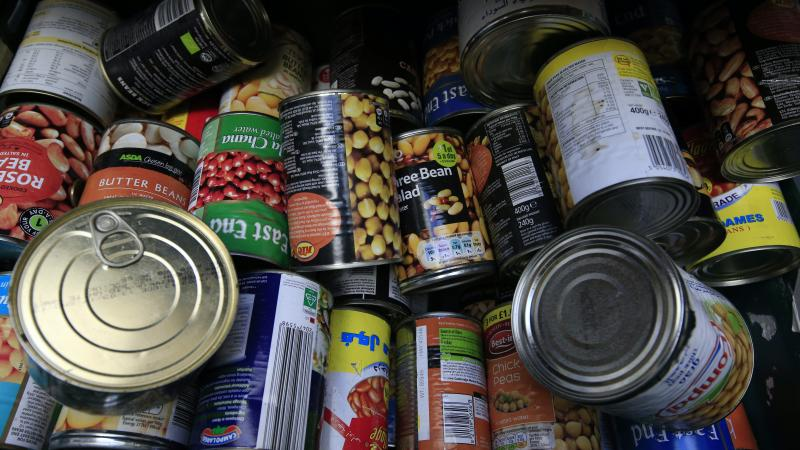 Thousands of extra food bank parcels given out during pandemic